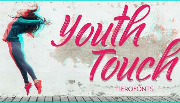 Youth Touch Font
