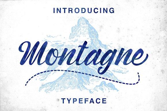 Montagne Script