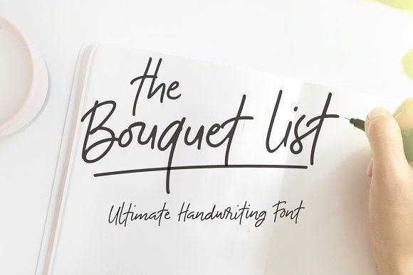 The Bouquet List Font