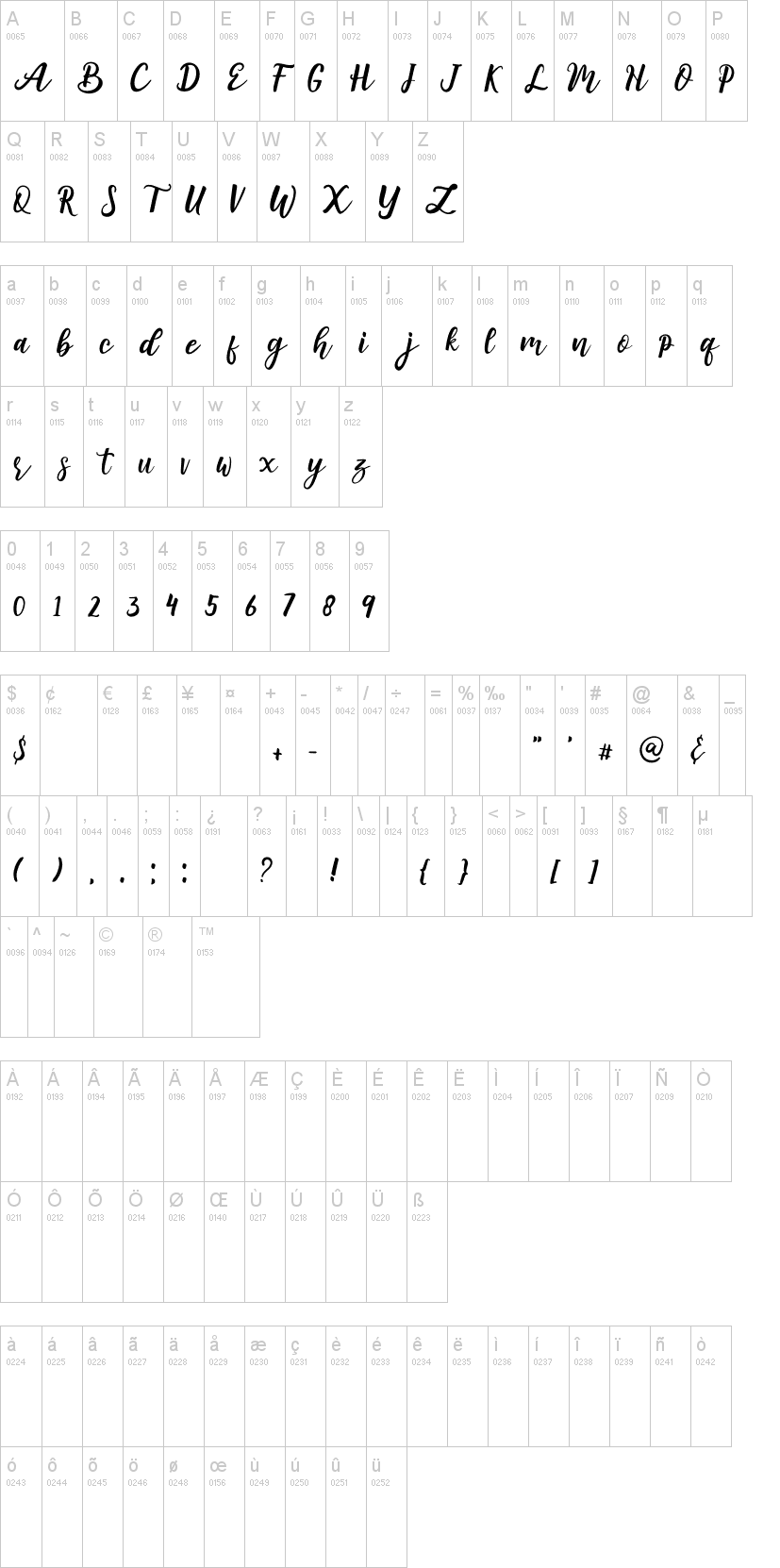 Amuba Font-1