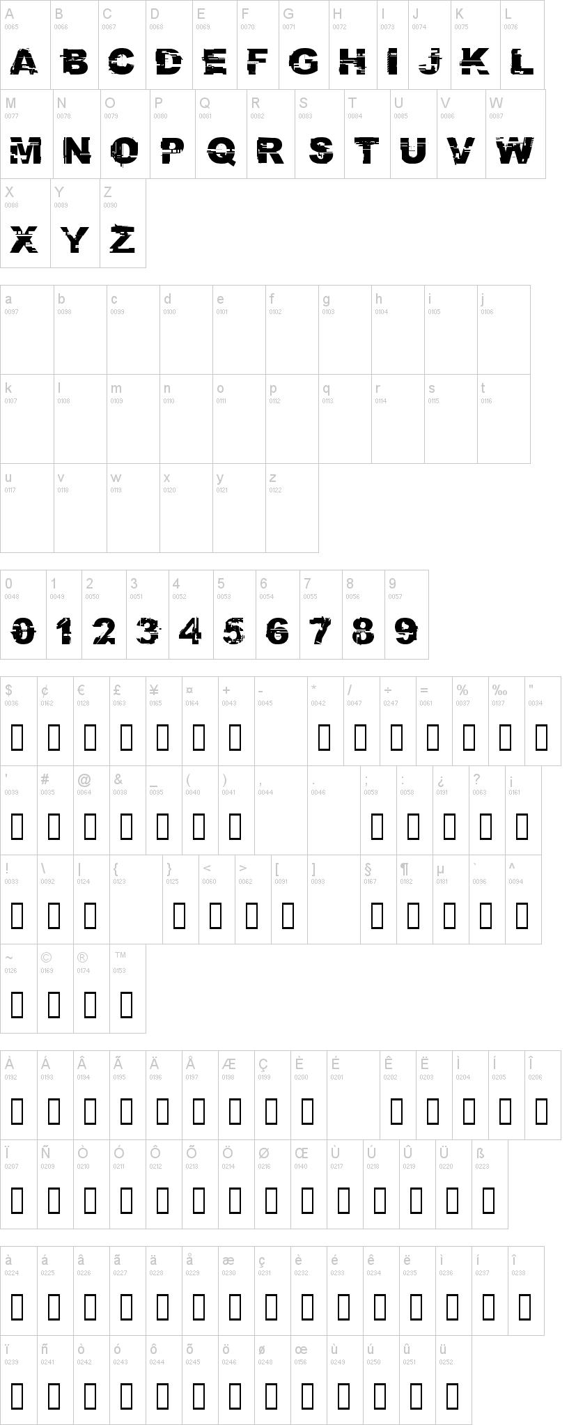 CF Glitch City Font-1
