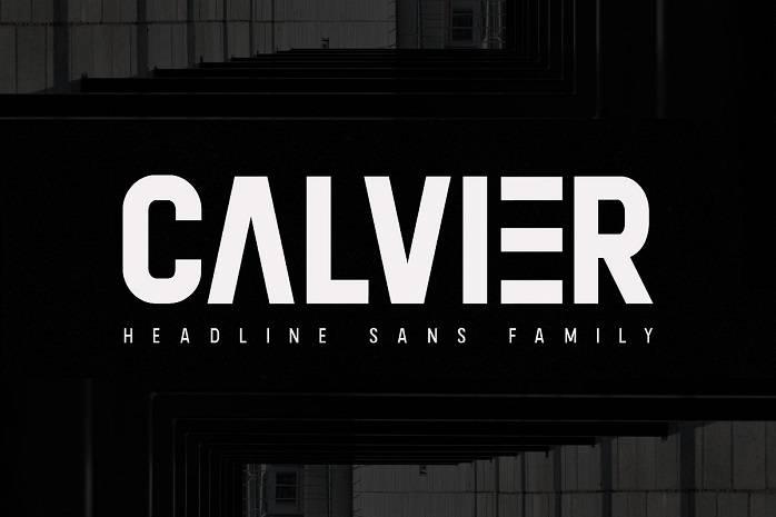 Calvier Sans Font Family