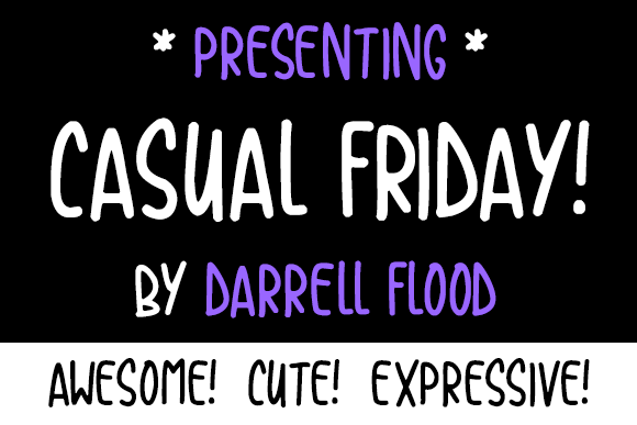 Casual Friday Font