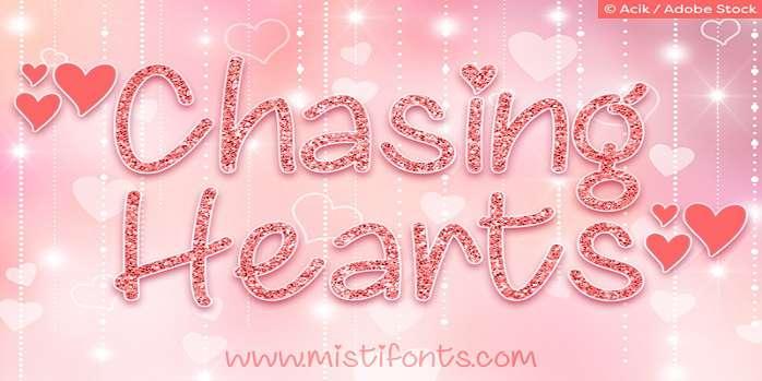 Chasing Hearts Font