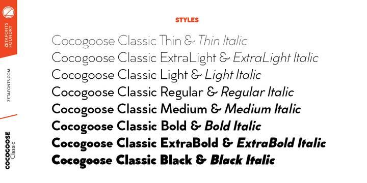 Cocogoose Classic Font Famly-1