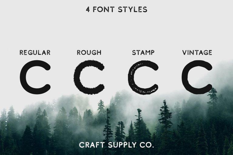 Comodo Font Family-1