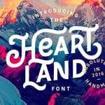 Heartland Font
