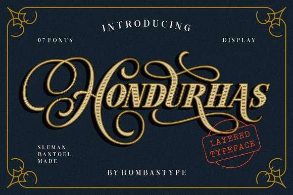 Hondurhas Font
