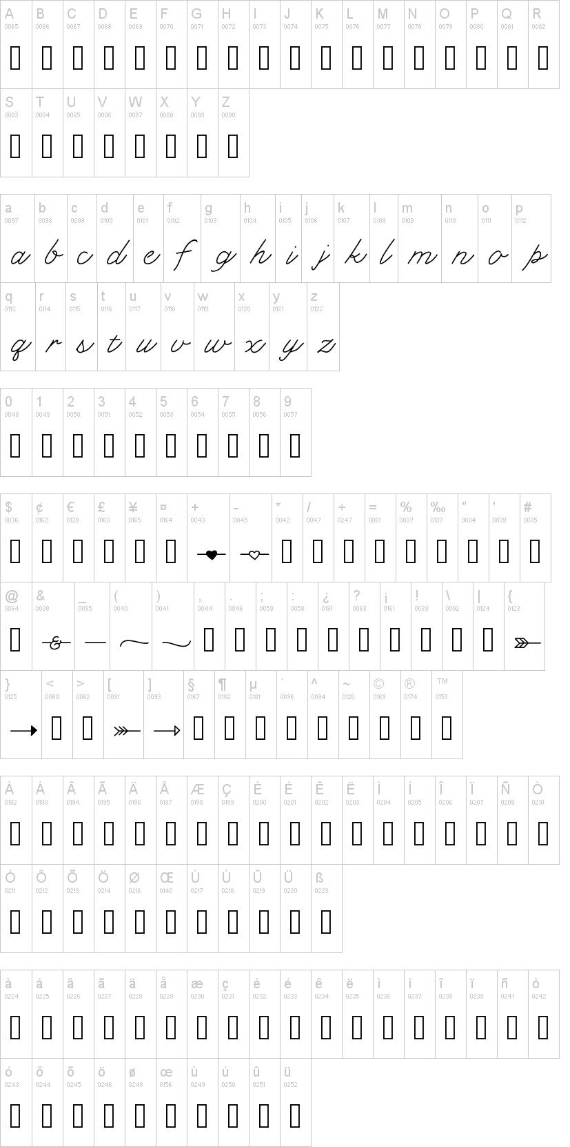 KL Cupid Font-1