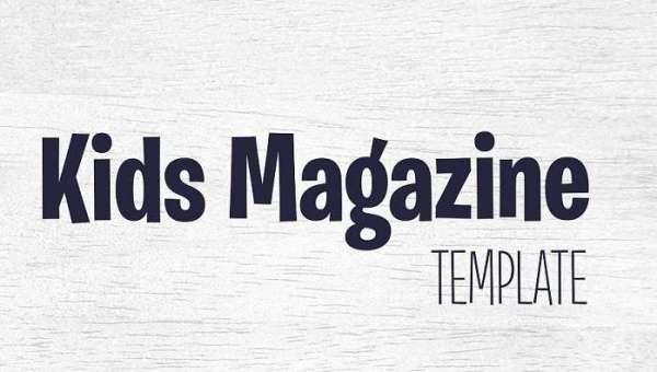Kids Magazine Font