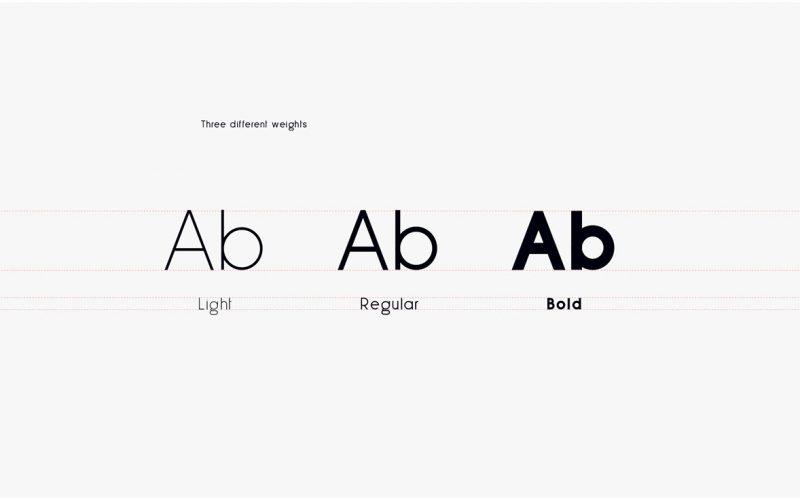 Less Sans Minimal Typeface-1