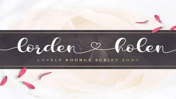 Lorden Holen Font