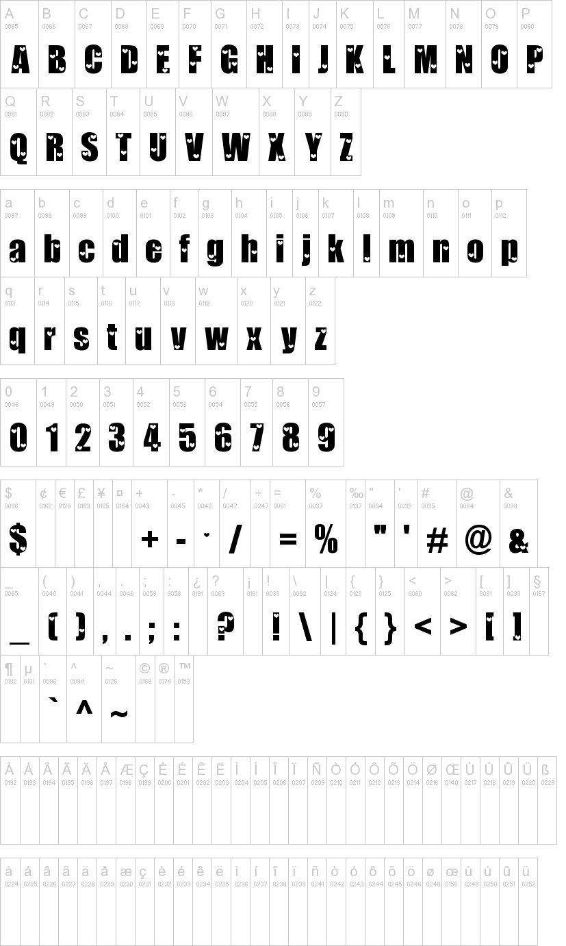 Love Letters Font-1