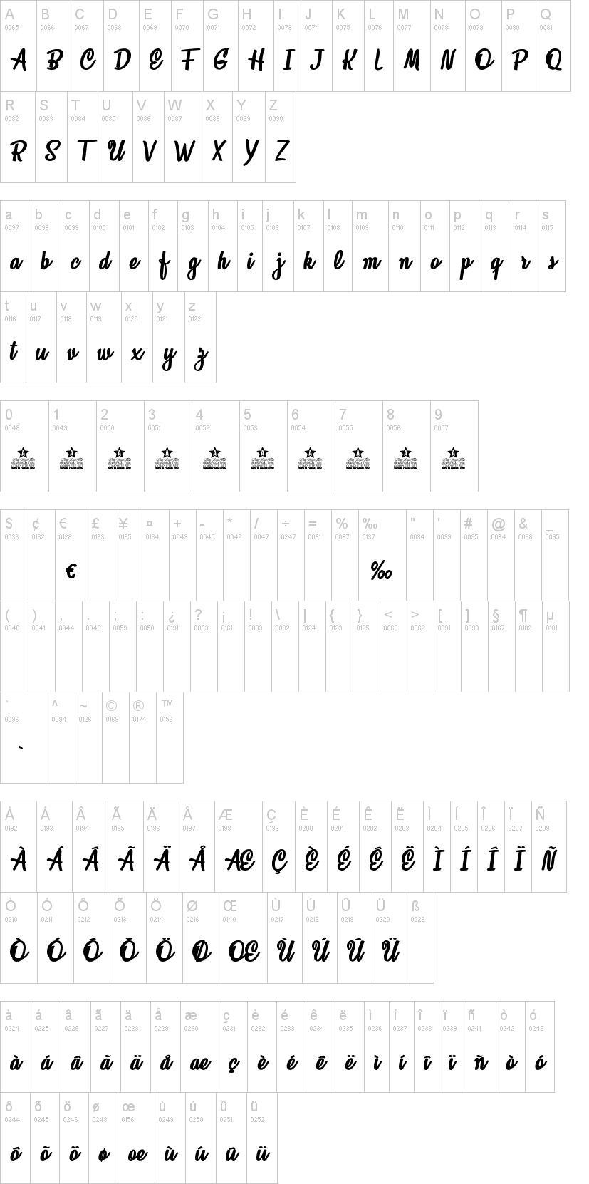 Loveland Font-1