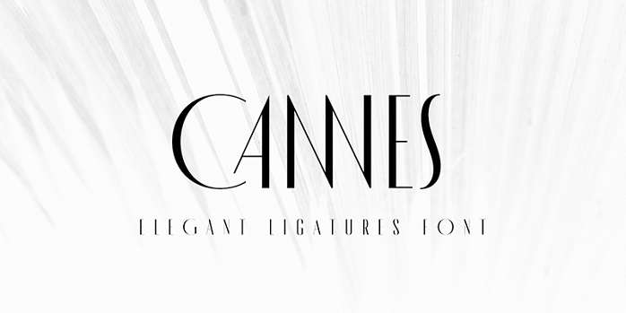 MADE Cannes Font