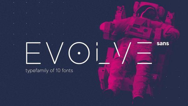 MADE Evolve Sans Font Family