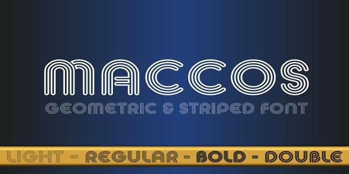 Maccos Font