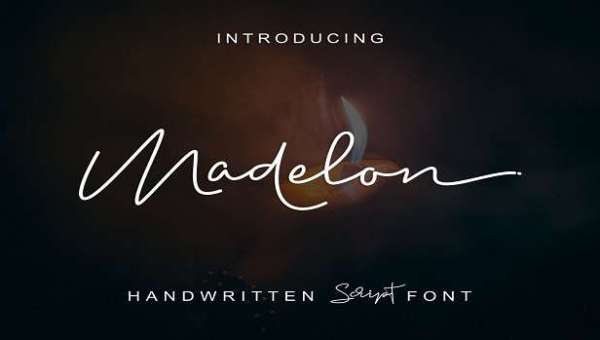 Madelon Script Font