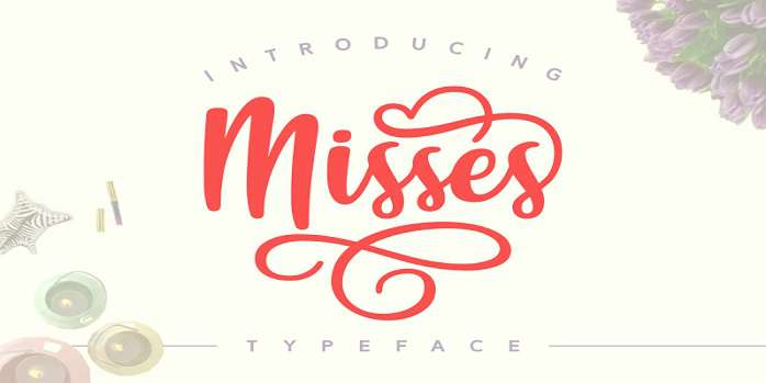Misses Font