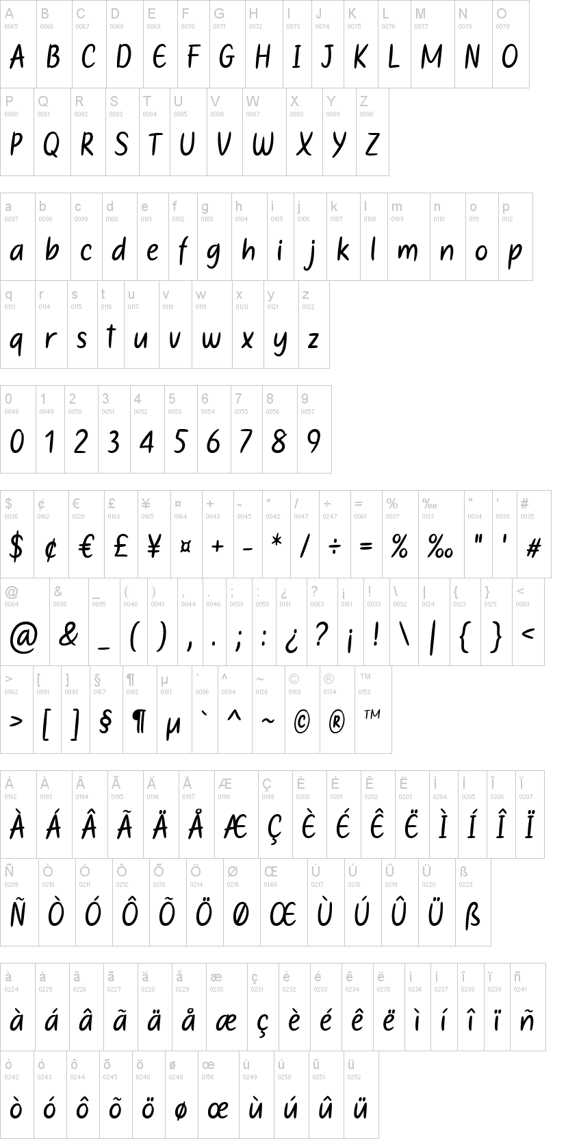 Mother's Touches Font-1