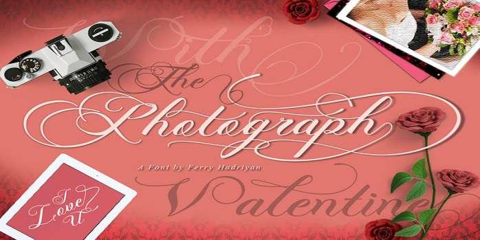 Photograph Script Font