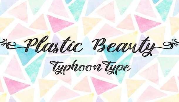 Plastic Beauty Font