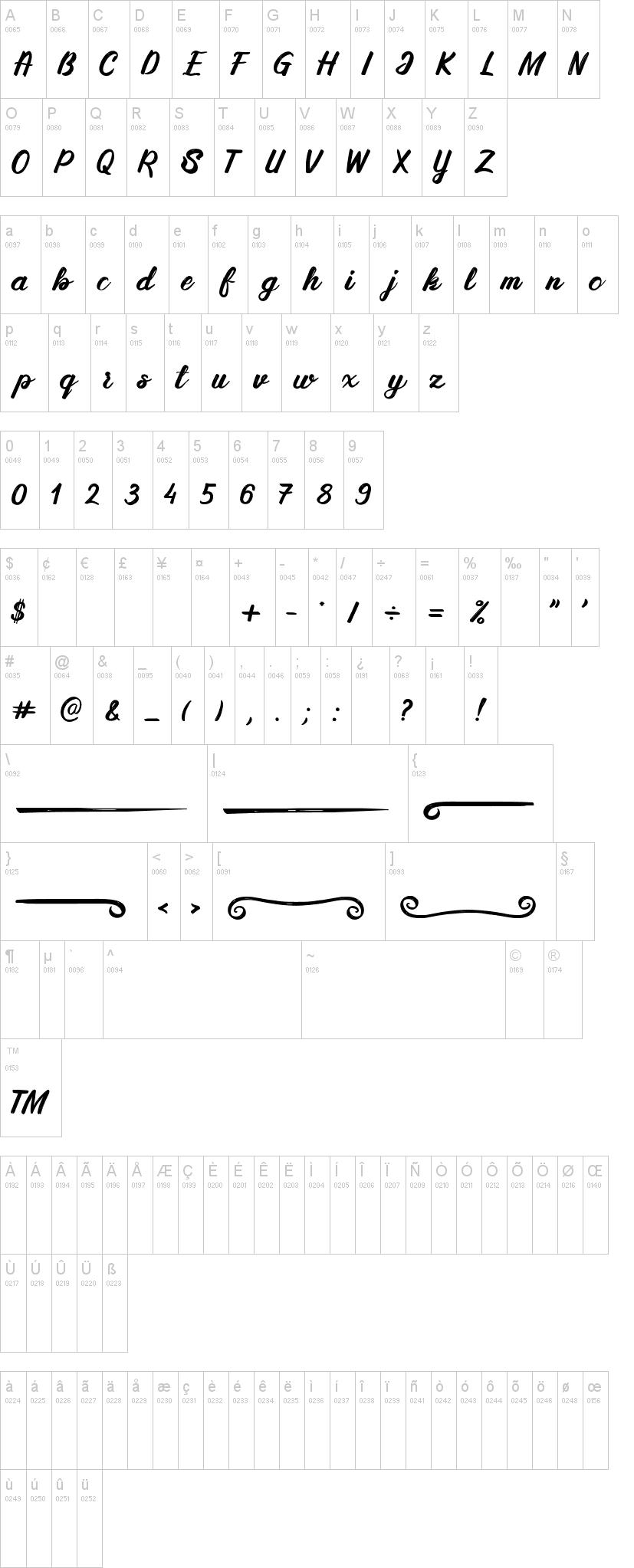 Silky&Milky Font-1