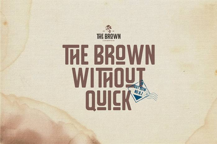 The Brown Typeface-1