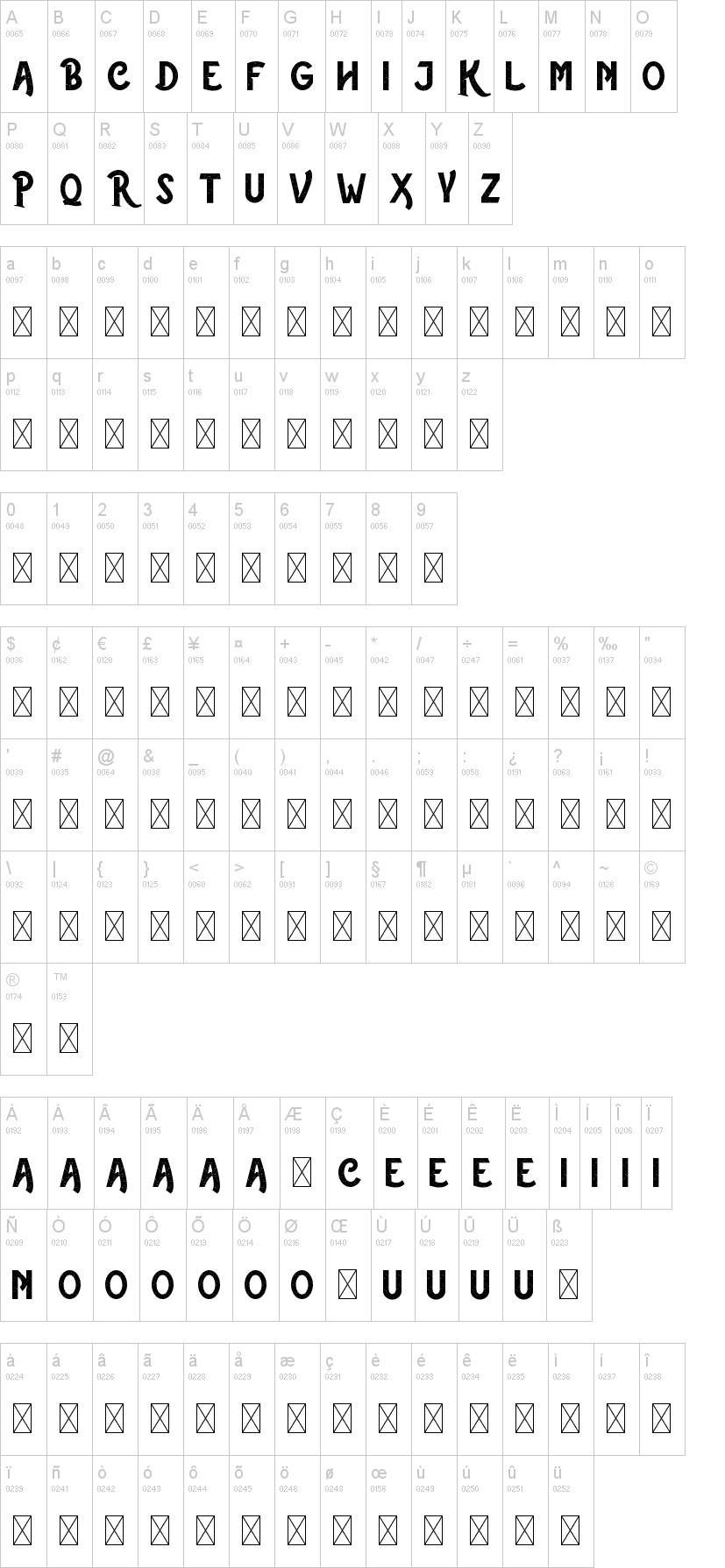 The Rustic Font-1