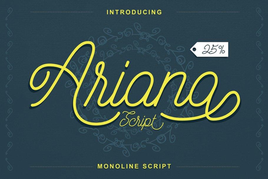 Ariana Script Font