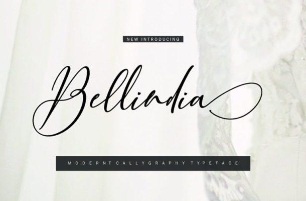 Bellidia Script Font
