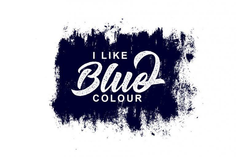 Big Blue Bold Script Font-2