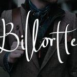 Billortte Script Font