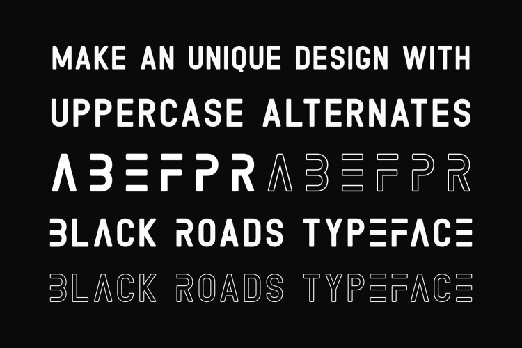 Black Roads Typeface-1