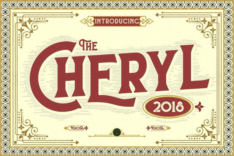 CHERYL Typeface