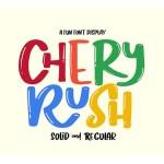 Chery Rush Font