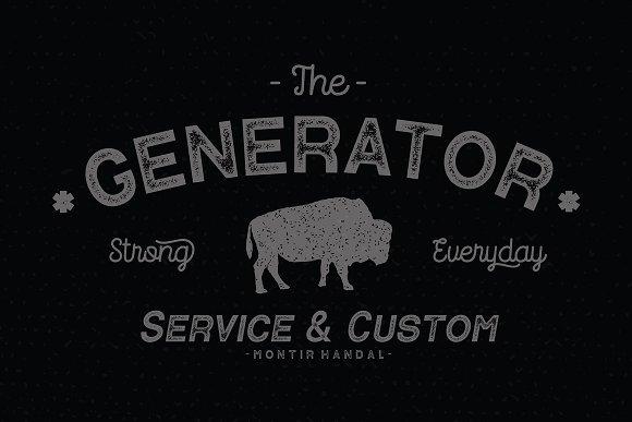 Contender Vintage Font-2