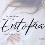 Entopia Script Font