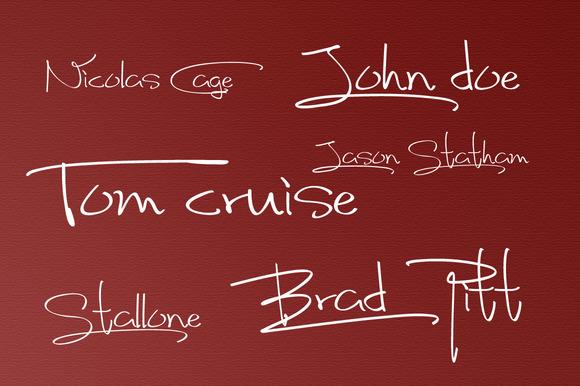 Fancy Signature Font Style-`1
