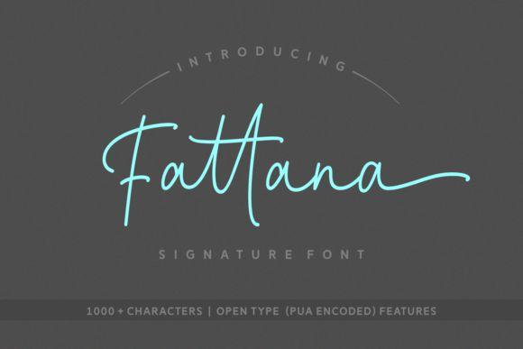 Fattana Script Font