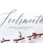 Feelsmooth Script Font