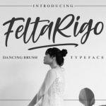 Feltarigo Brush Font