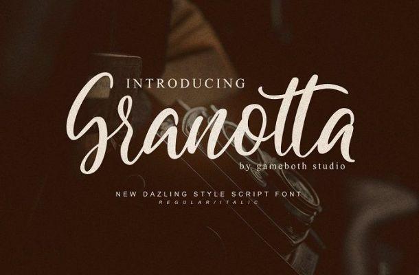 Granotta Script Font