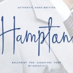 Hampton Handwriting Font