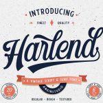 Harlend Typeface