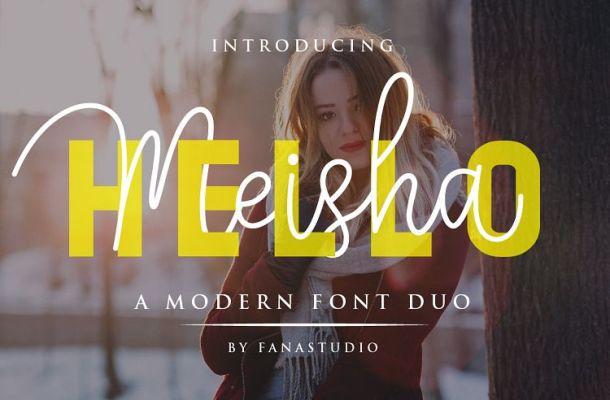 Hello Meisha Font Duo