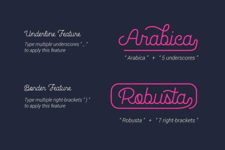 La Patio Script Font-2
