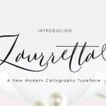 Laurretta Calligraphy Font