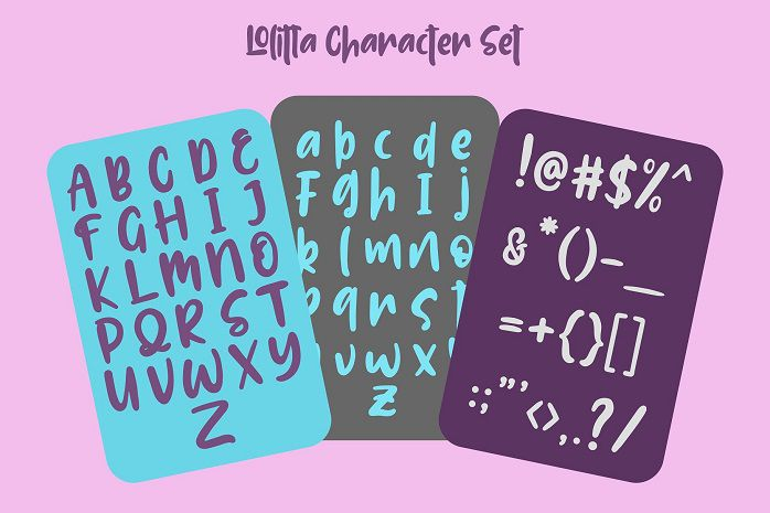Lolitta Fun Display Font-1