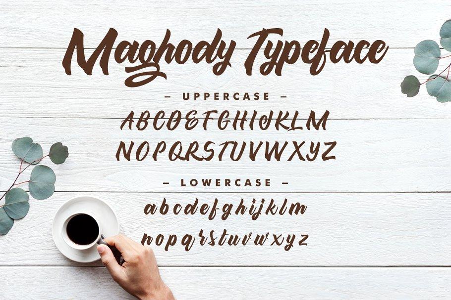 Maghody Bold Script Font-2
